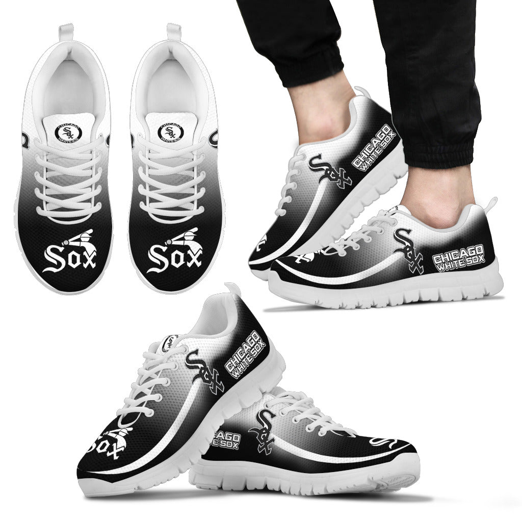 Mystery Straight Line Up Chicago White Sox Sneakers