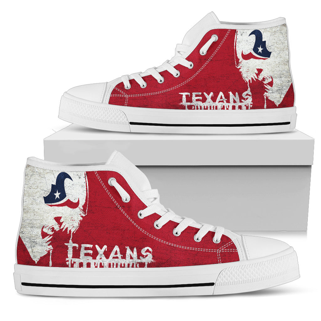 Alien Movie Houston Texans High Top Shoes