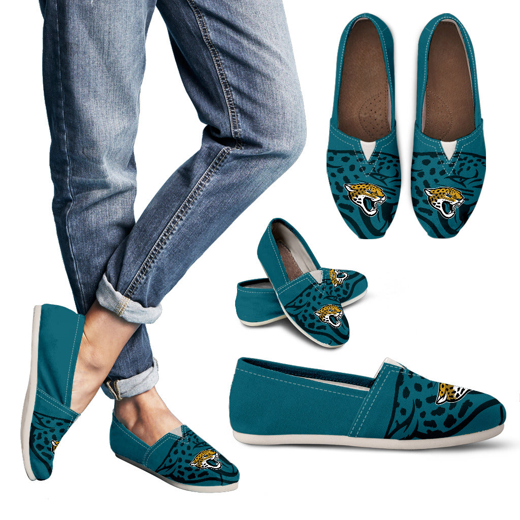 Enormous Logo Mix Tiny Logo Fantastic Jacksonville Jaguars Casual Shoes