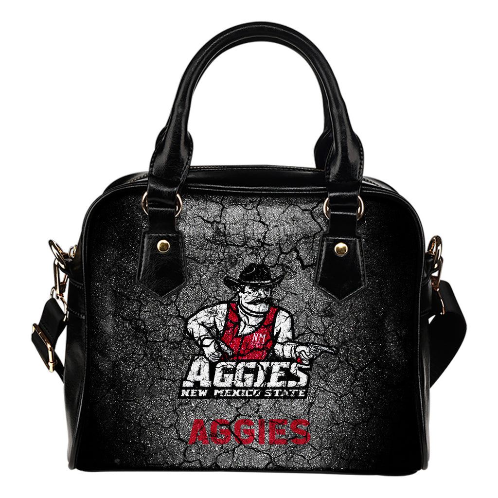 Wall Break New Mexico State Aggies Shoulder Handbags Women Purse