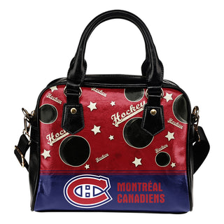 Personalized American Hockey Awesome Montreal Canadiens Shoulder Handbag