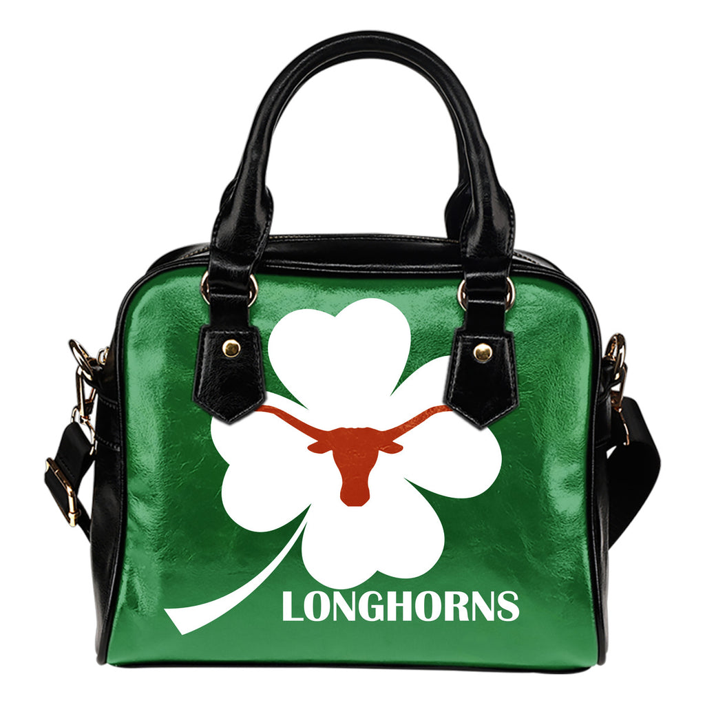 Texas Longhorns Blowing Amazing Stuff Shoulder Handbags