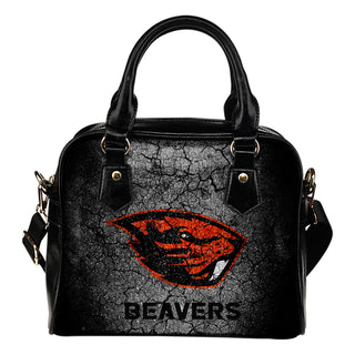Wall Break Oregon State Beavers Shoulder Handbags Women Purse
