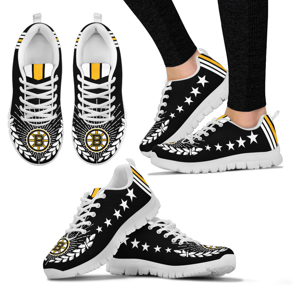 Line Of Stars Victory Boston Bruins Sneakers