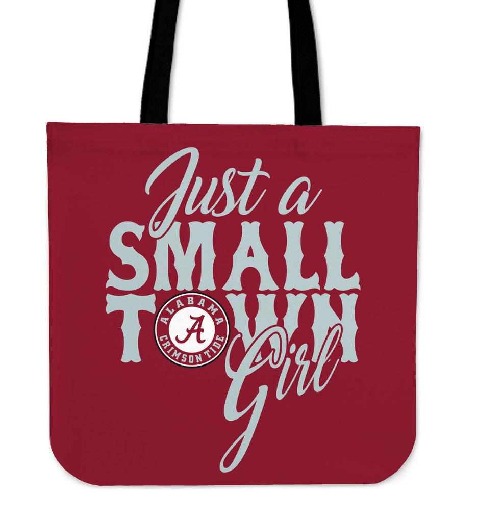 Just A Small Town Alabama Crimson Tide Tote Bags - Best Funny Store