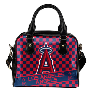 Different Fabulous Banner Los Angeles Angels Shoulder Handbags