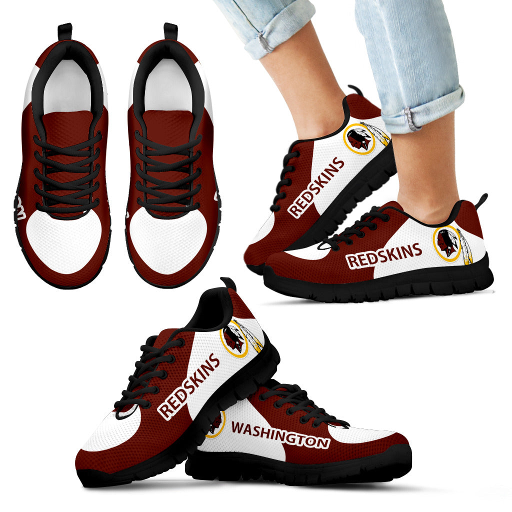 Washington Redskins Top Logo Sneakers Best Funny Store