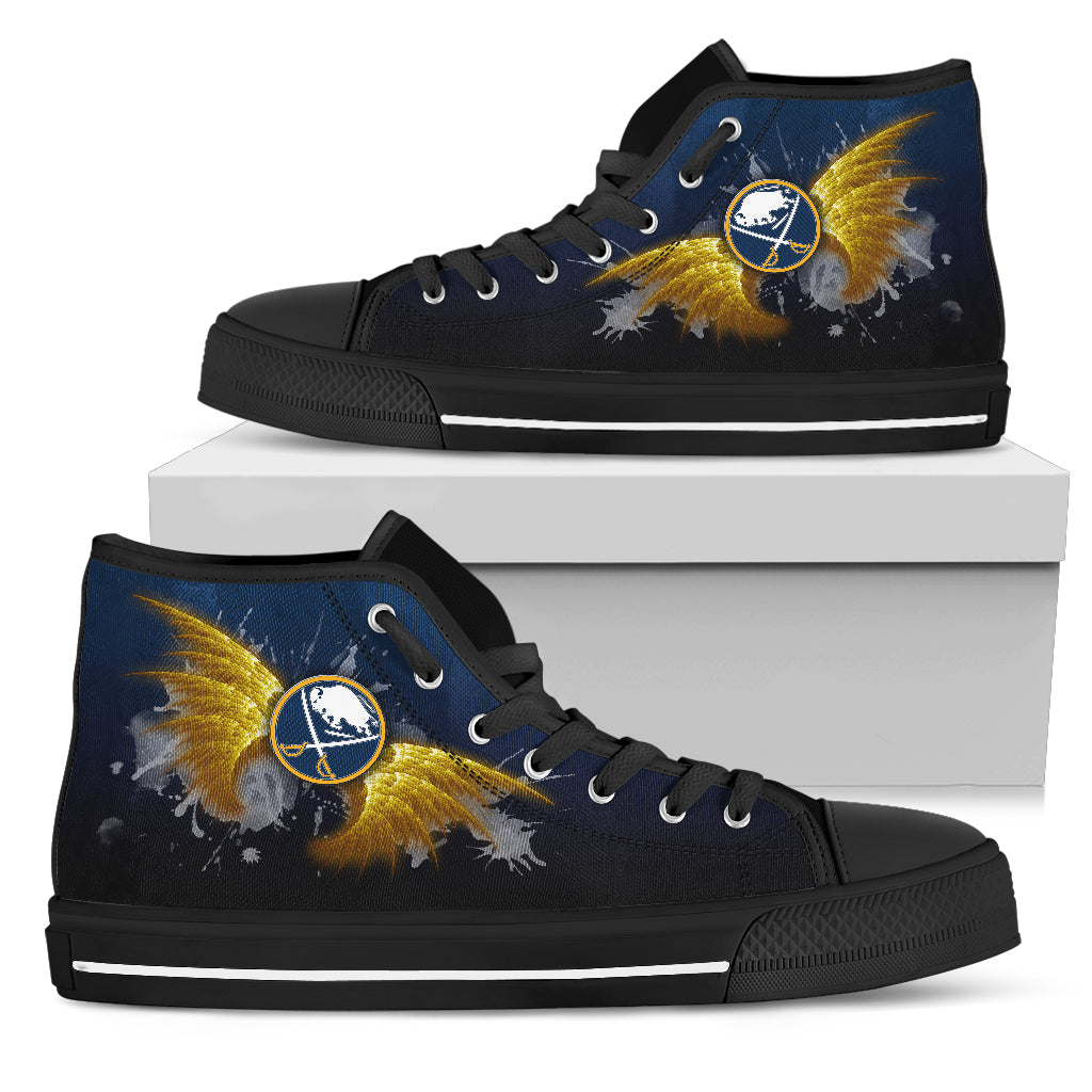 Angel Wings Buffalo Sabres High Top Shoes
