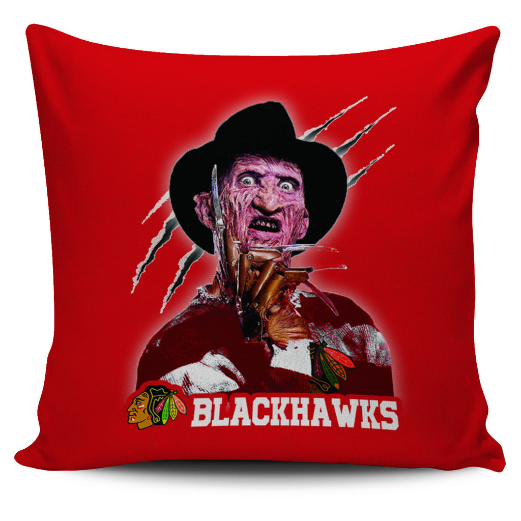 Freddy Chicago Blackhawks Pillow Covers - Best Funny Store