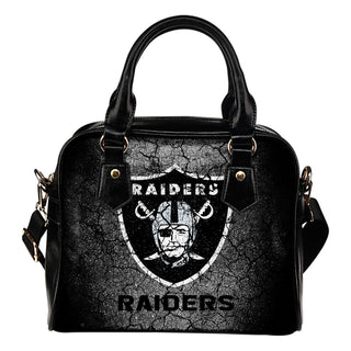 Wall Break Oakland Raiders Shoulder Handbags Women Purse