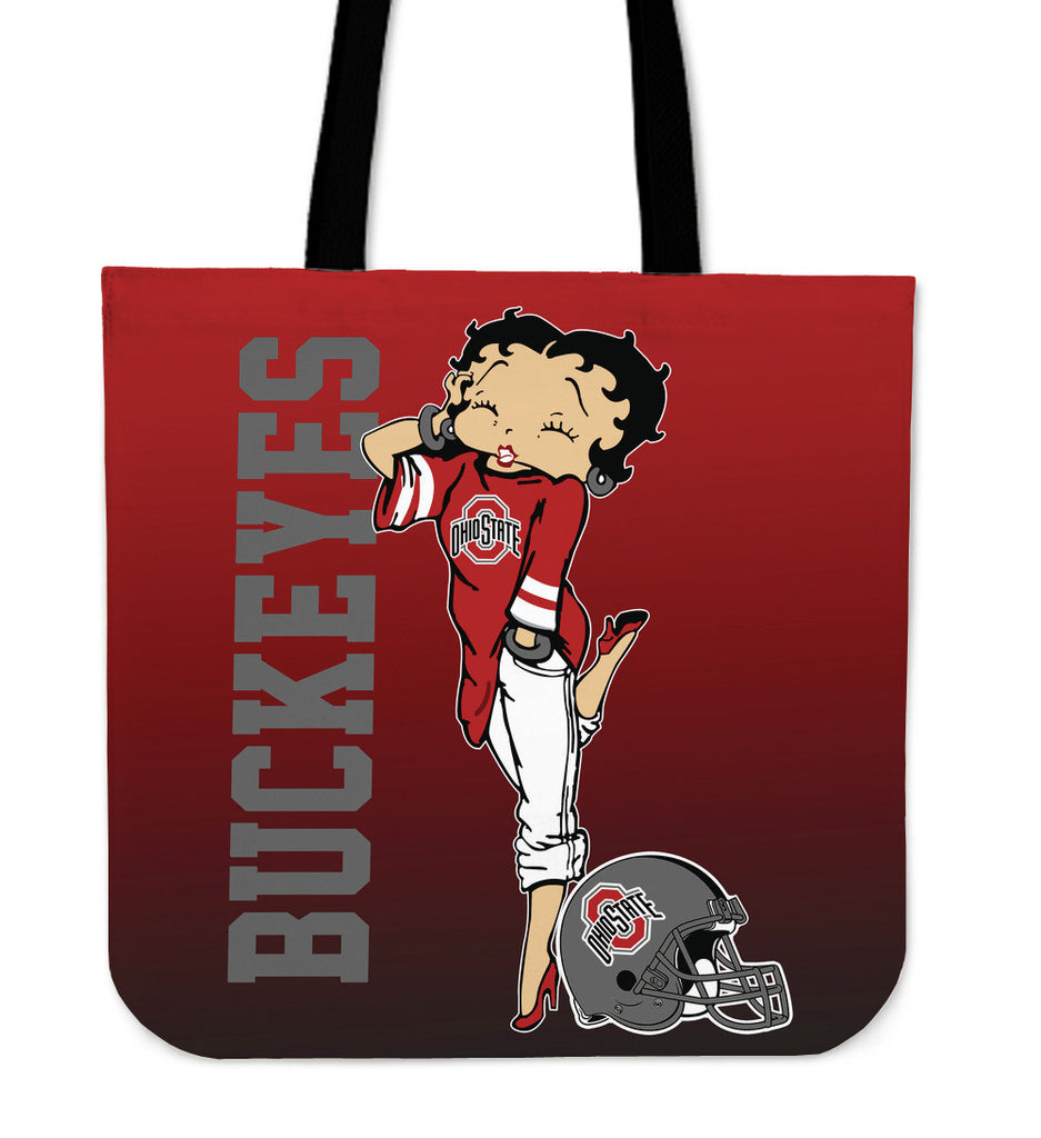 BB Ohio State Buckeyes Tote Bag For Woman - Best Funny Store