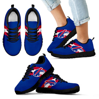 Three Colors Vertical Buffalo Bills Sneakers