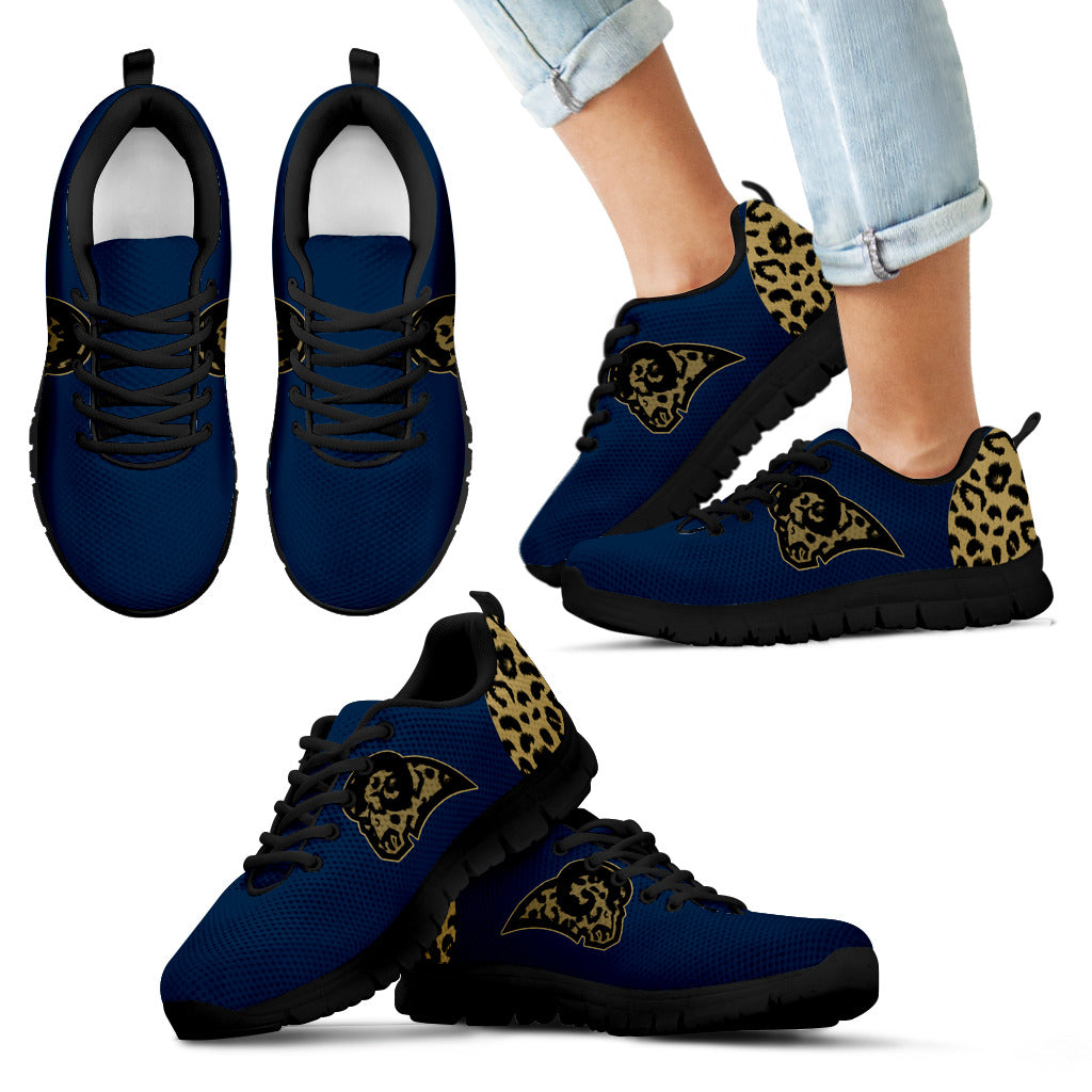 Cheetah Pattern Fabulous Los Angeles Rams Sneakers