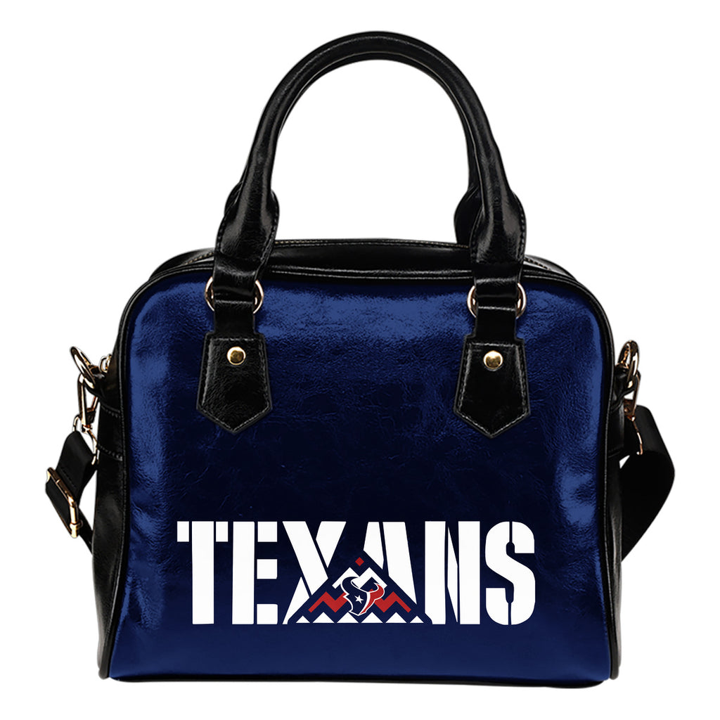 Houston Texans Mass Triangle Shoulder Handbags