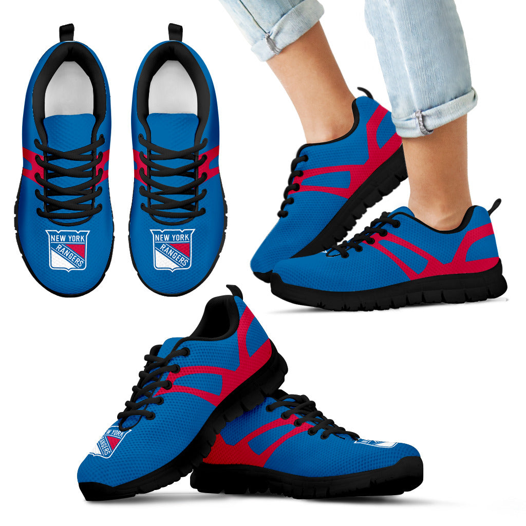Line Amazing Bottom New York Rangers Sneakers