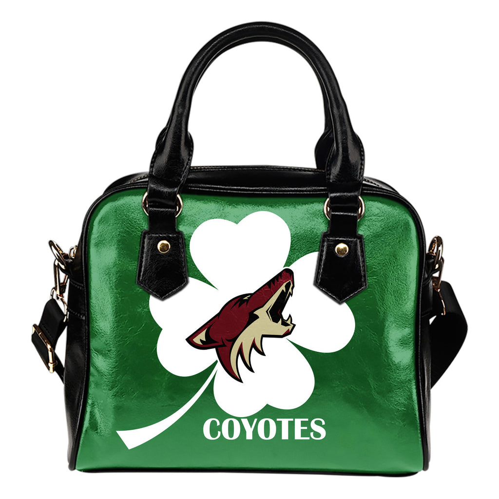 Arizona Coyotes Blowing Amazing Stuff Shoulder Handbags