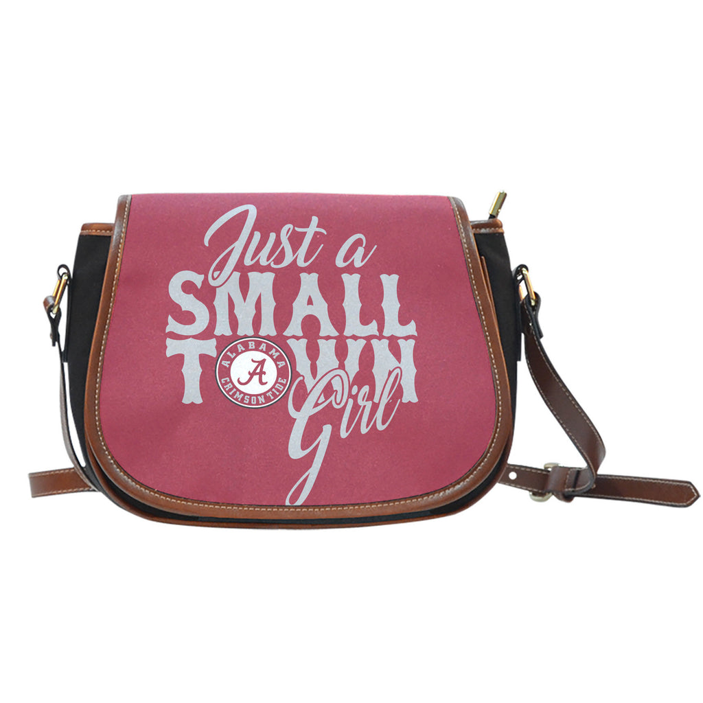Just A Small Town Alabama Crimson Tide Saddle Bags - Best Funny Store