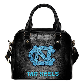 Wall Break North Carolina Tar Heels Shoulder Handbags Women Purse