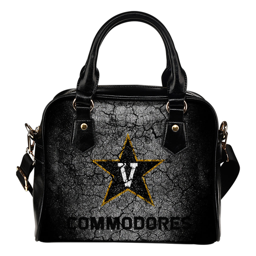 Wall Break Vanderbilt Commodores Shoulder Handbags Women Purse