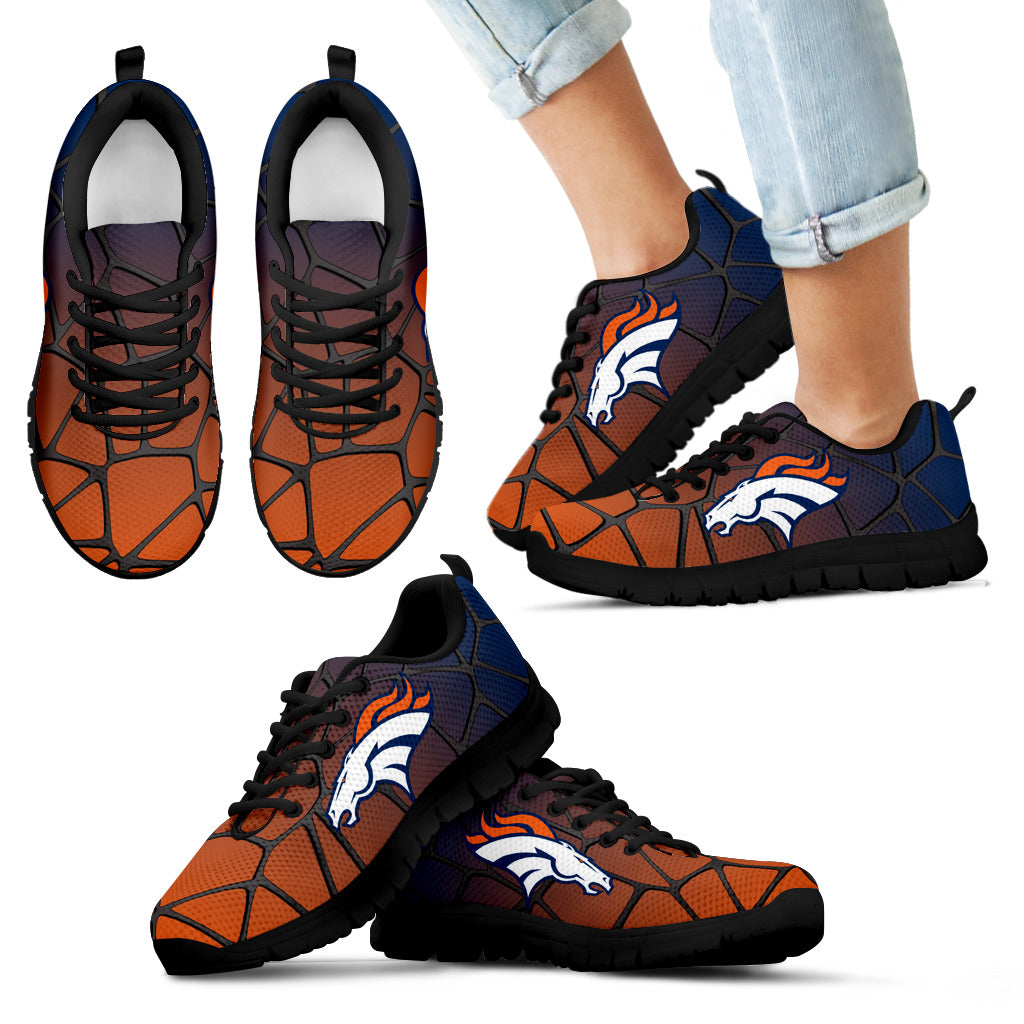 Colors Air Cushion Denver Broncos Gradient Sneakers