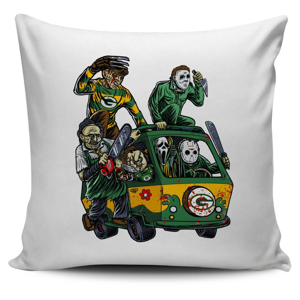 The Massacre Machine Green Bay Packers Pillow Covers - Best Funny Store