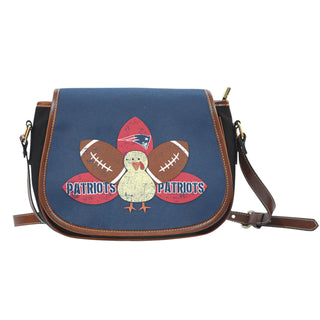 Thanksgiving New England Patriots Saddle Bags - Best Funny Store