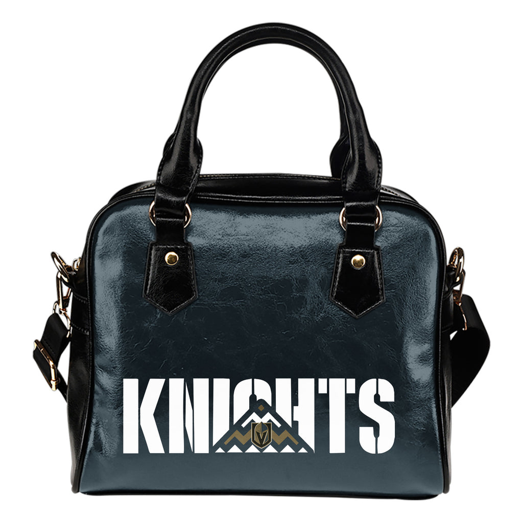 Vegas Golden Knights Mass Triangle Shoulder Handbags