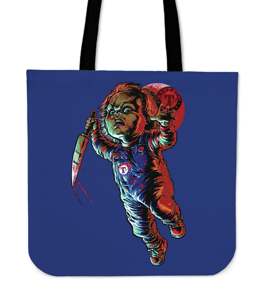 Chucky Texas Rangers Tote Bag - Best Funny Store