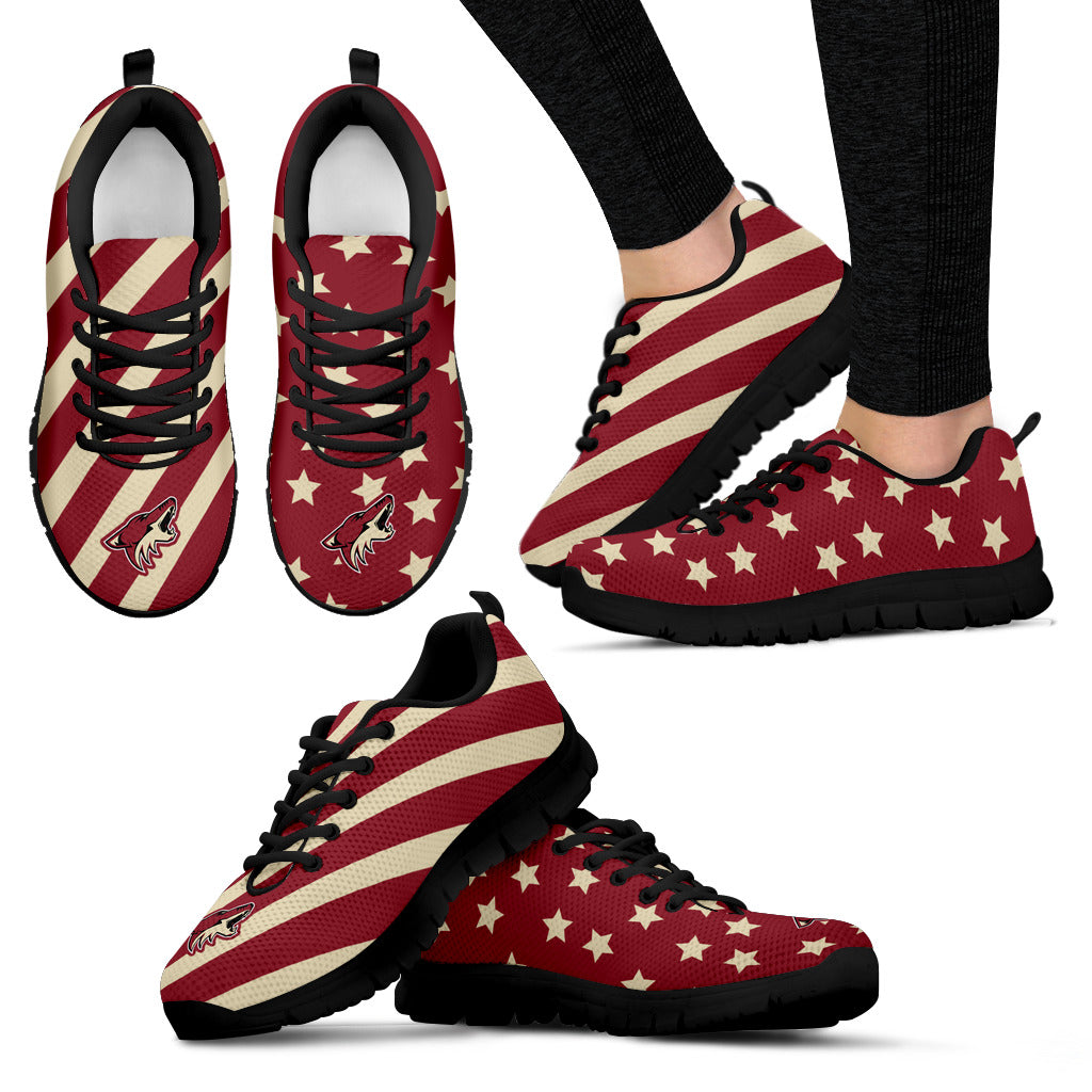 Splendid Star Mix Edge Fabulous Arizona Coyotes Sneakers