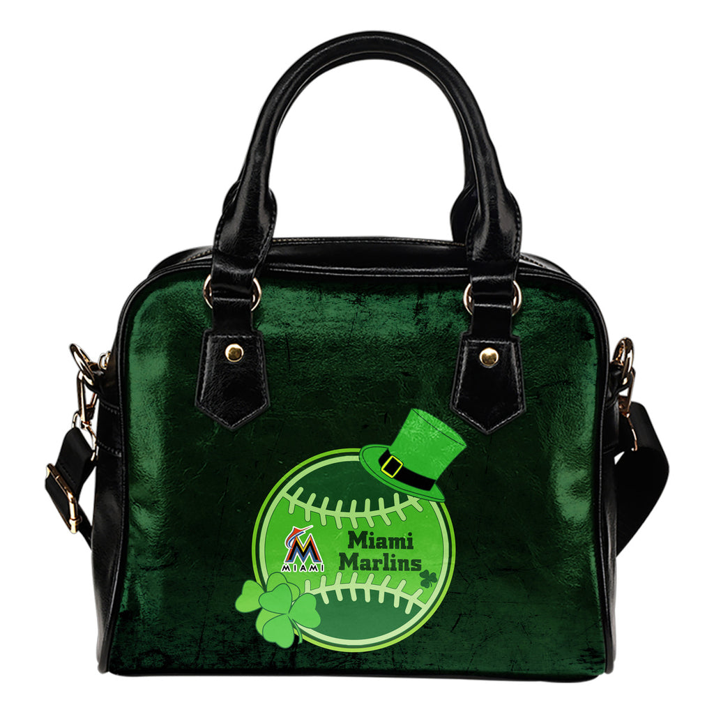 Signal Patrick's Day Pleasant Miami Marlins Shoulder Handbags