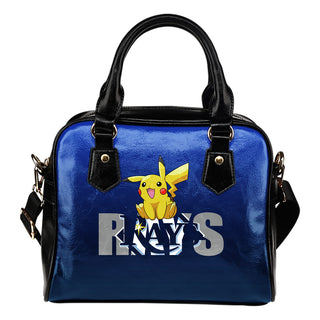 Pokemon Sit On Text Tampa Bay Rays Shoulder Handbags