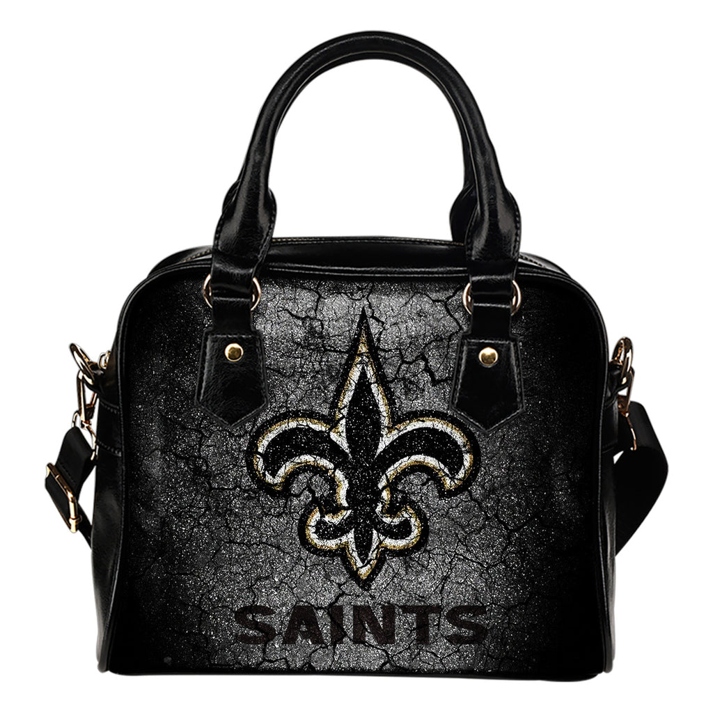 Wall Break New Orleans Saints Shoulder Handbags Women Purse