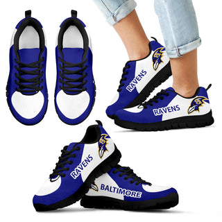 Baltimore Ravens Top Logo Sneakers