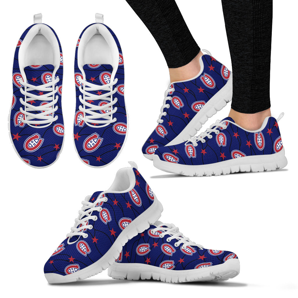 Star Twinkle Night Montreal Canadiens Sneakers