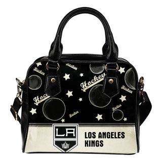 Personalized American Hockey Awesome Los Angeles Kings Shoulder Handbag