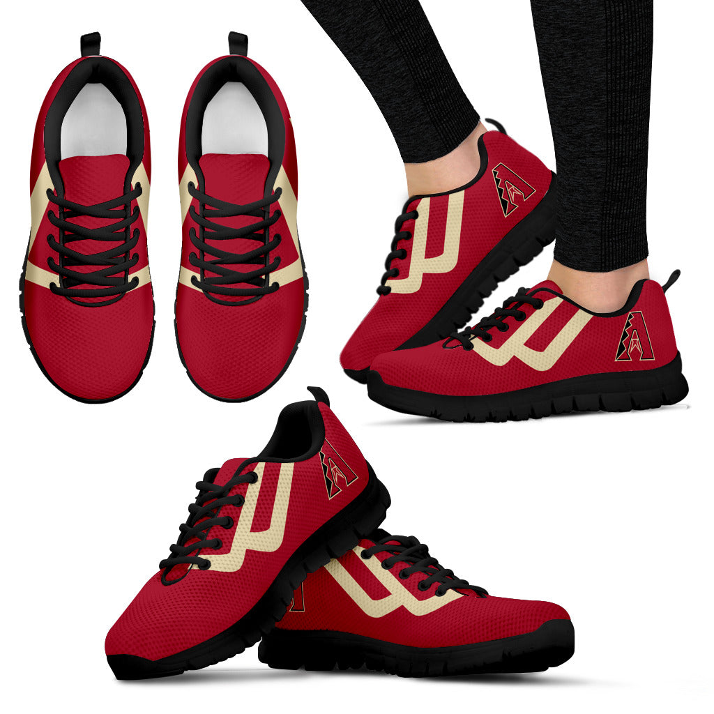 Line Bottom Straight Arizona Diamondbacks Sneakers