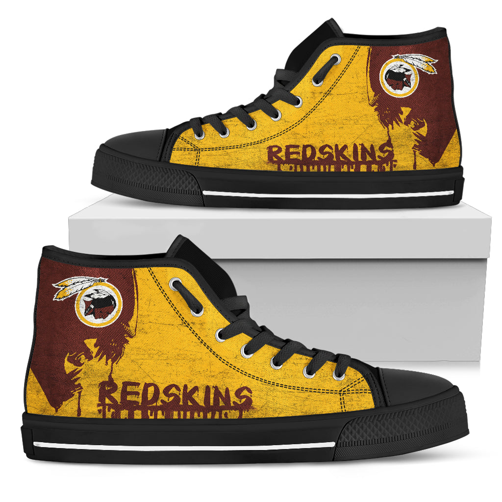 Alien Movie Washington Redskins High Top Shoes