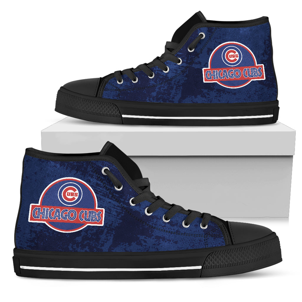 Jurassic Park Chicago Cubs High Top Shoes