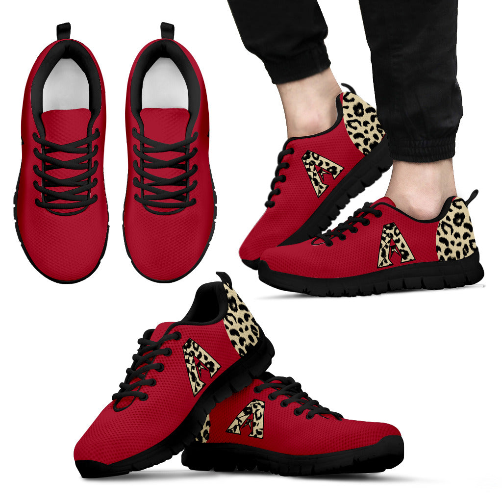Cheetah Pattern Fabulous Arizona Diamondbacks Sneakers
