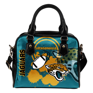 The Victory Jacksonville Jaguars Shoulder Handbags