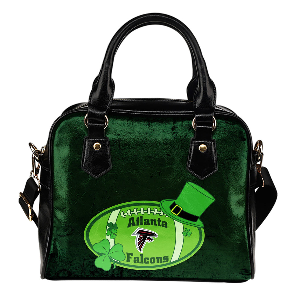 Signal Patrick's Day Pleasant Atlanta Falcons Shoulder Handbags