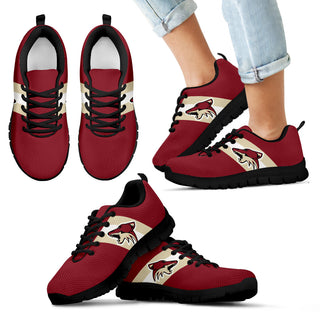 Three Colors Vertical Arizona Coyotes Sneakers