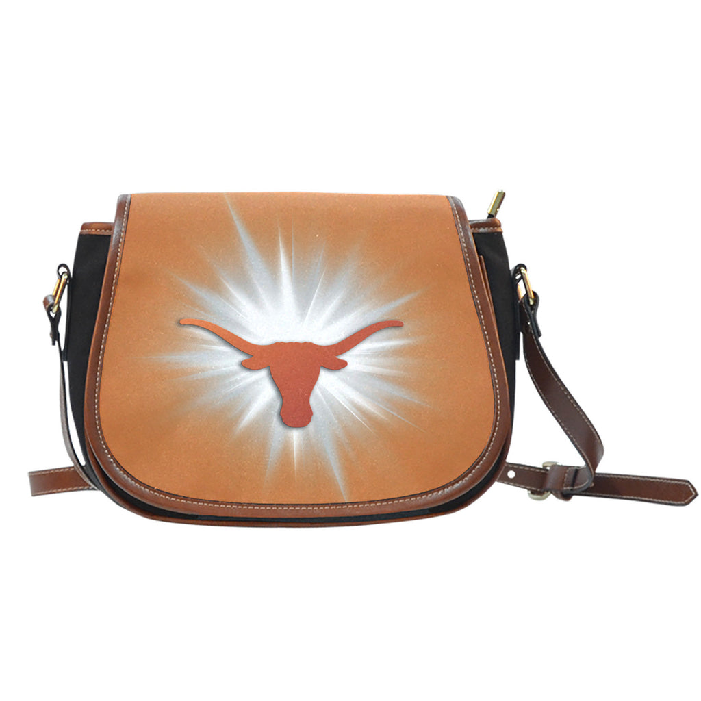 Texas Longhorns Flashlight Saddle Bags - Best Funny Store
