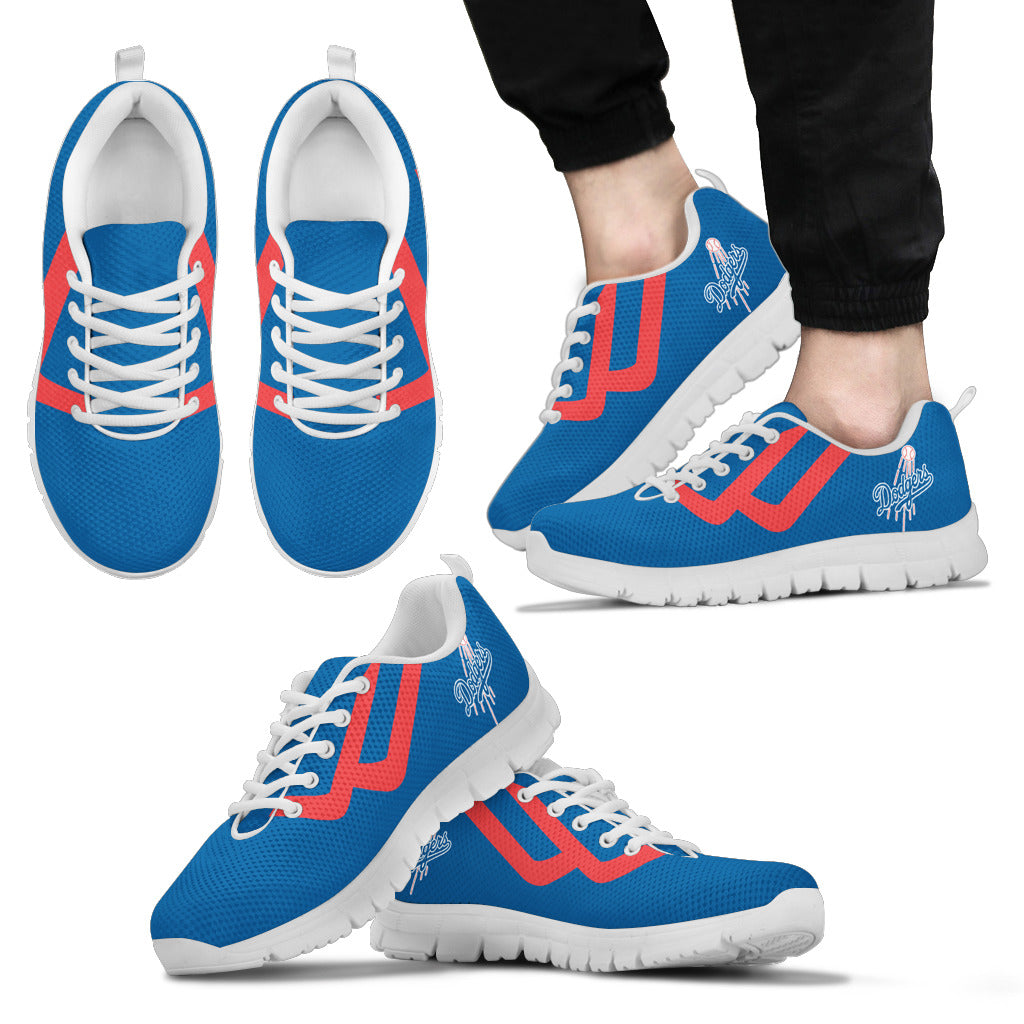 Line Bottom Straight Los Angeles Dodgers Sneakers