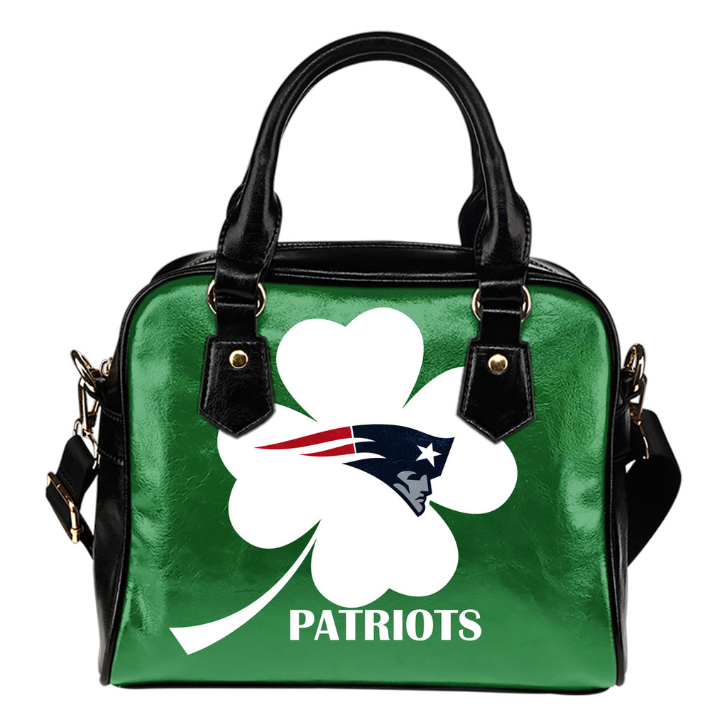 New England Patriots Blowing Amazing Stuff Shoulder Handbags