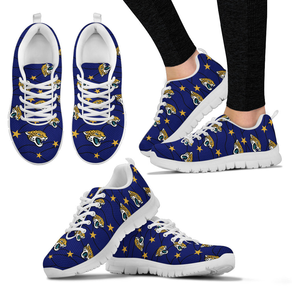 Star Twinkle Night Jacksonville Jaguars Sneakers