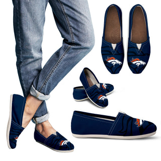 Enormous Logo Mix Tiny Logo Fantastic Denver Broncos Casual Shoes
