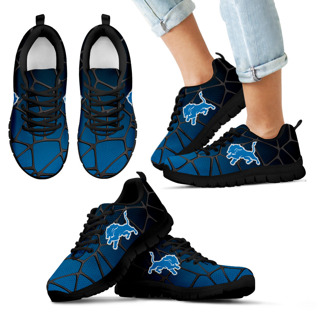 Colors Air Cushion Detroit Lions Gradient Sneakers