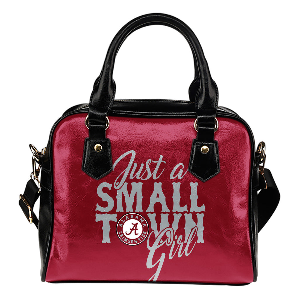 Just A Small Town Alabama Crimson Tide Shoulder Handbags - Best Funny Store