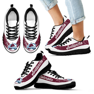 Single Line Logo Colorado Avalanche Sneakers